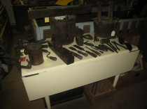 Variety of Furniture, tools and small decor.
