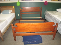 Maple Full bed,  Oak twin bed