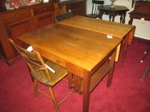 Misson Oak Desk