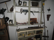 Variety or Tools, Primitives, Iron, Wood
