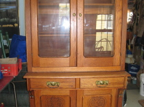 Early Oak Cabinet  1910-1920