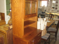 Oak Hutch  repurposed Great Condition