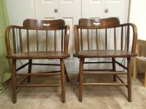 Oak Tavern Chairs
