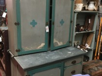Painted Country Kitchen Cupboard